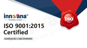 INNOVANA gets ISO 9001 Certified