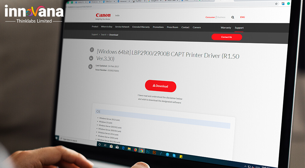 Canon LBP 2900 Driver Download For Windows