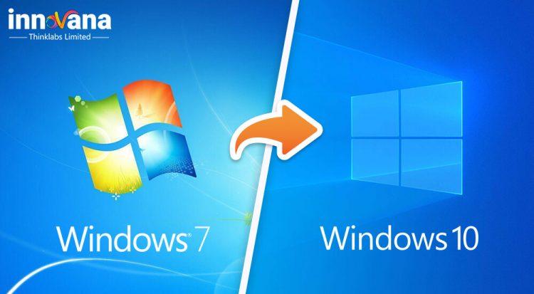 Upgrade from Windows 7 to Windows 10