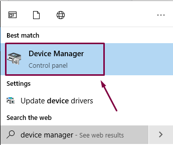 Device Manager for Graphics fix on Windows