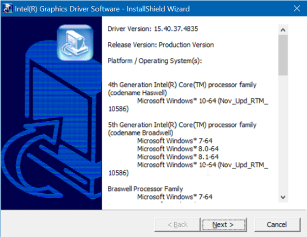 Install your Graphics card driver