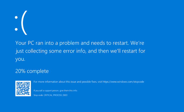 Fix Blue Screen of Death - bsod error message