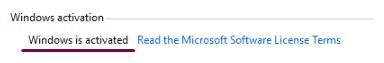 Check Windows Activation