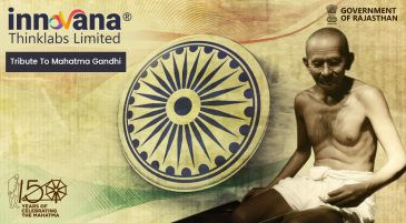 INNOVANA tribute to Gandhi Ji