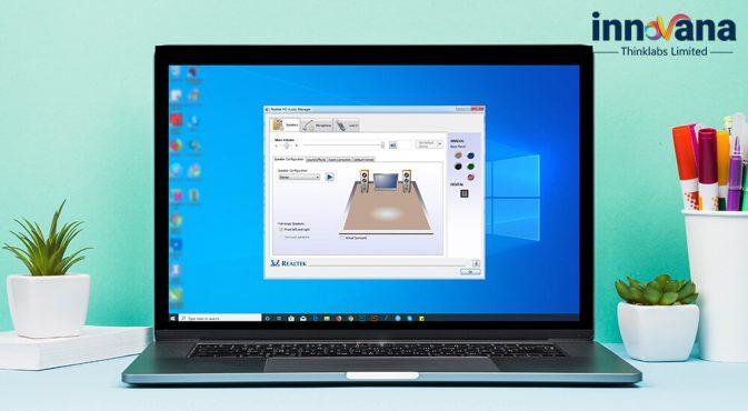 Install Realtek high definition audio driver for Windows 7/8/10