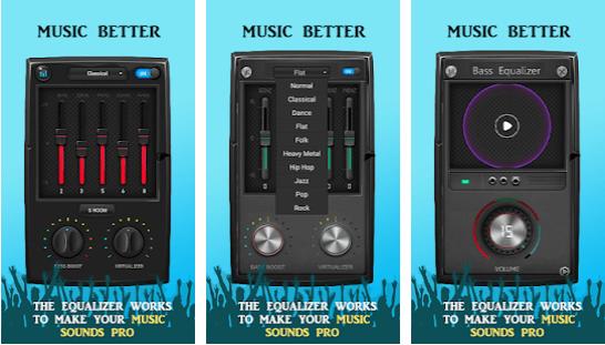 Music Volume EQ Sound Bass Booster Equalizer