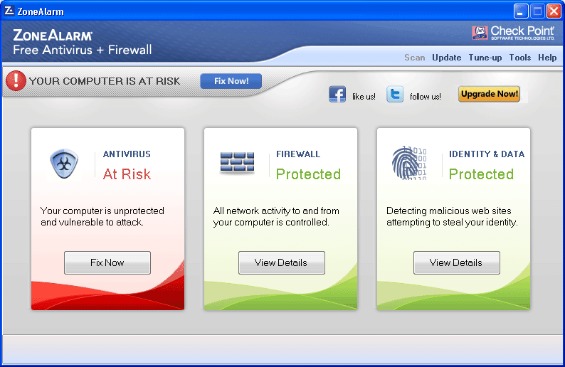 ZoneAlarm Free Antivirus+