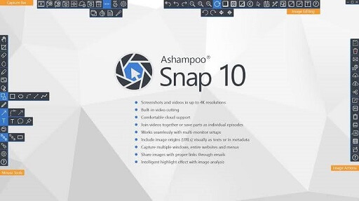 Ashampoo Snap 12- the best snipping tools