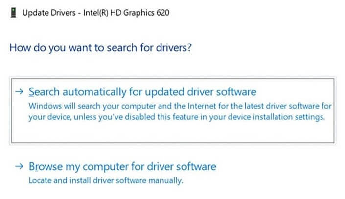 Using Device Manager to Upgrade Your Graphics Drivers-1