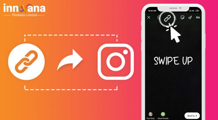 How to add a Swipe Up Link to Instagram Story