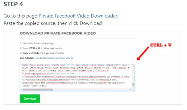 Tips to download Facebook Private Videos VIA getfvid - 2