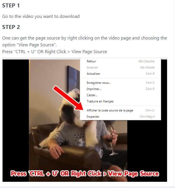 Tips to download Facebook Private Videos VIA getfvid