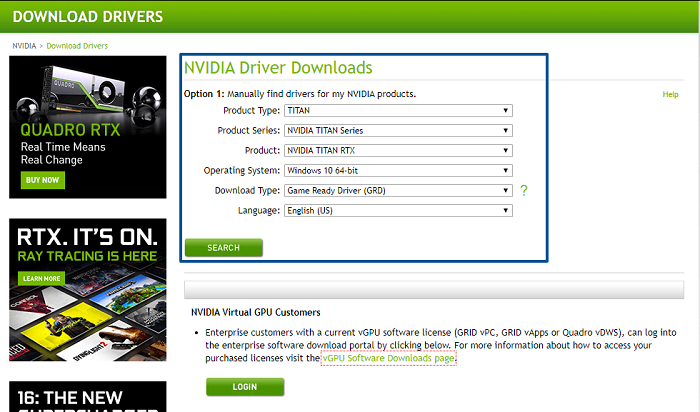 Download-Drivers-NVIDIA