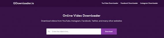 QDownloader Facebook Video Downloader