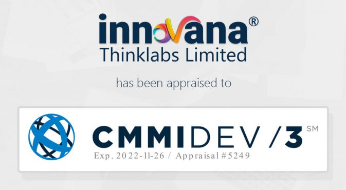 Innovana Thinklabs is now CMMI Level 3 appraised company