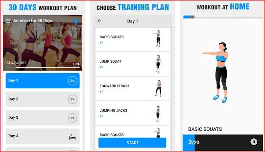 Aerobics Workout at Home