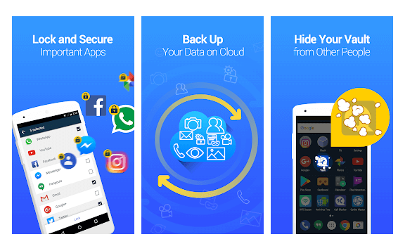 Vault – Hide Pics & Videos, App Lock, Free Backup