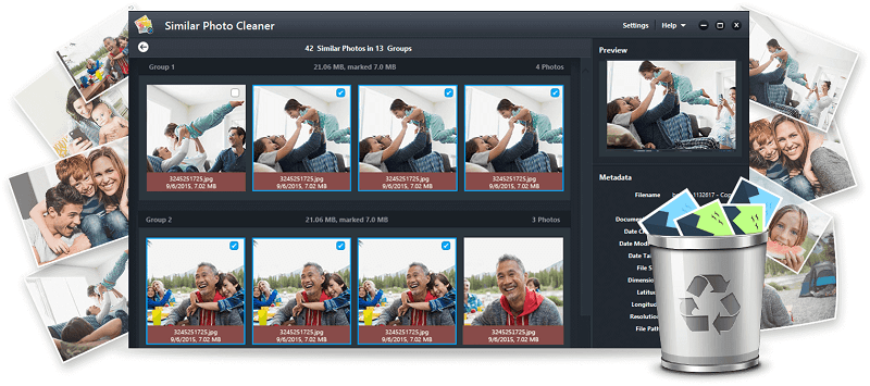 similar photo cleaner - best duplicate photo finder