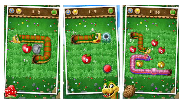 Snakes And Apples - Best Snake games for Android
