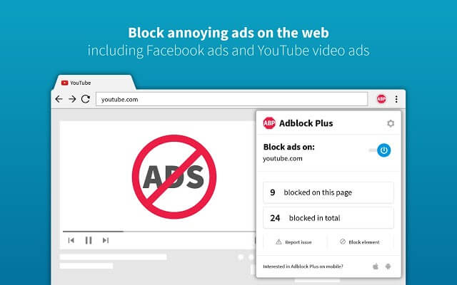 Adblock Plus - Chrome Security Extension