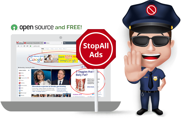 StopAll Ads - Best Google Chrome Security Extension