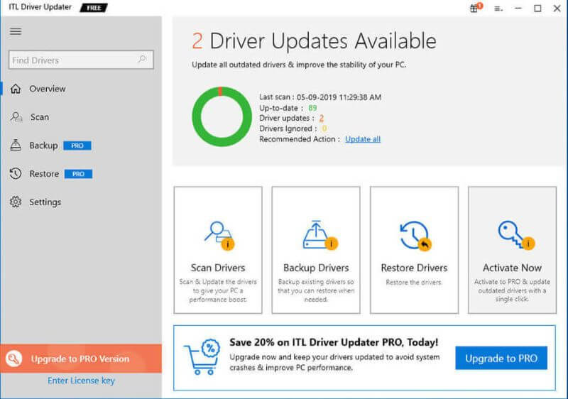 ITL Driver Updater