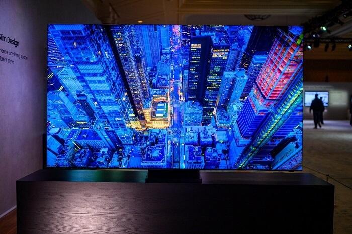 Samsung's Frameless TV