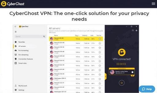 CyberGhost VPN- VPN with Windows 10