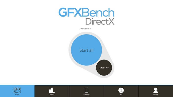 GFXBench directX- best graphic card benchmark