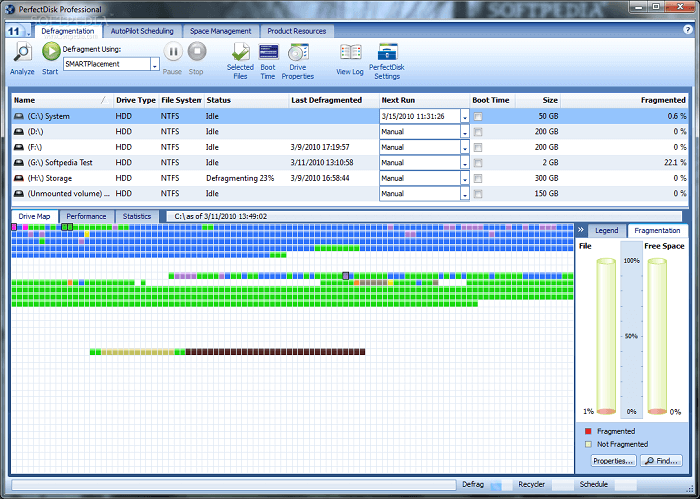 PerfectDisk- Best Disk Defragmenter Software
