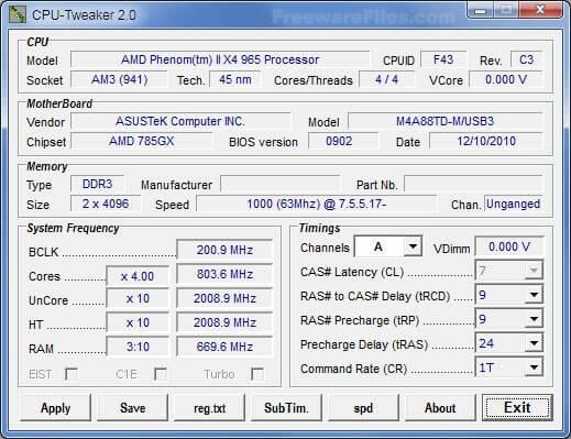 CPU Tweaker 2.0