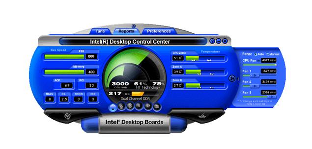 Desktop Control Center