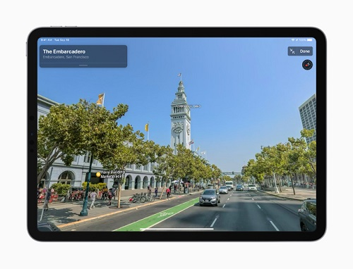 Apple Rolls Out a new redesigned map for All Users in the USA-1