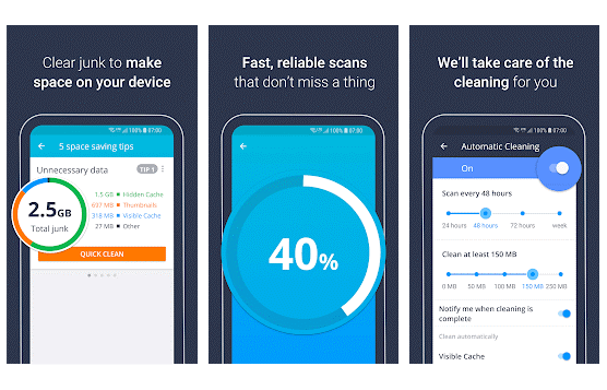 AVG Cleaner - best CCleaner alternative for android device