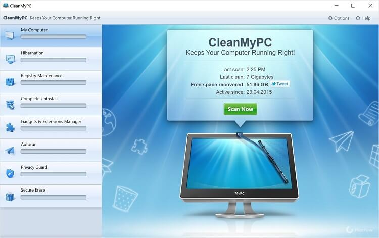 clean my PC - CCleaner Alternatives windows