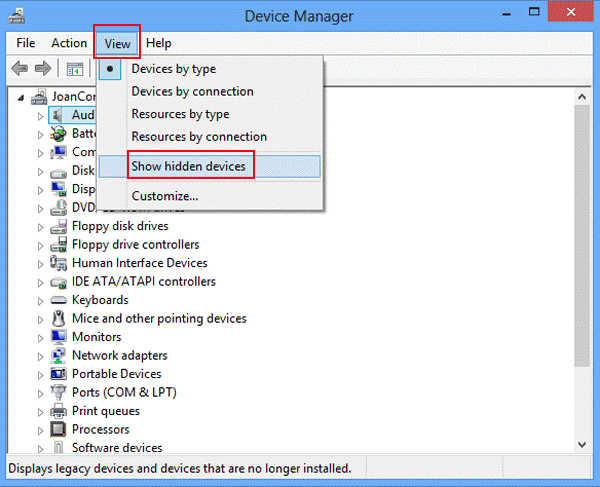 Remove NVIDIA drivers using Device Manager-1