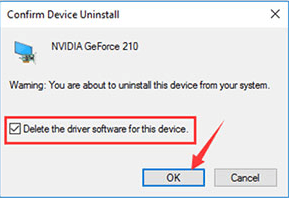 Remove NVIDIA drivers using Device Manager-3