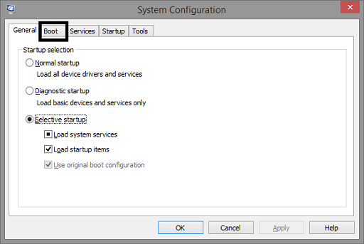 Run Your PC in Safe Mode - System Configuration