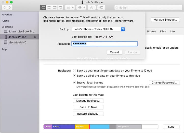 How to recover deleted photos from iTunes-1