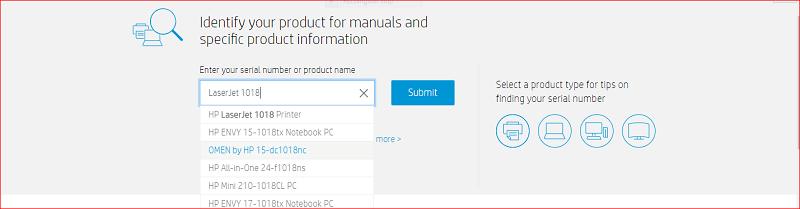 HP LaserJet driver download through official website