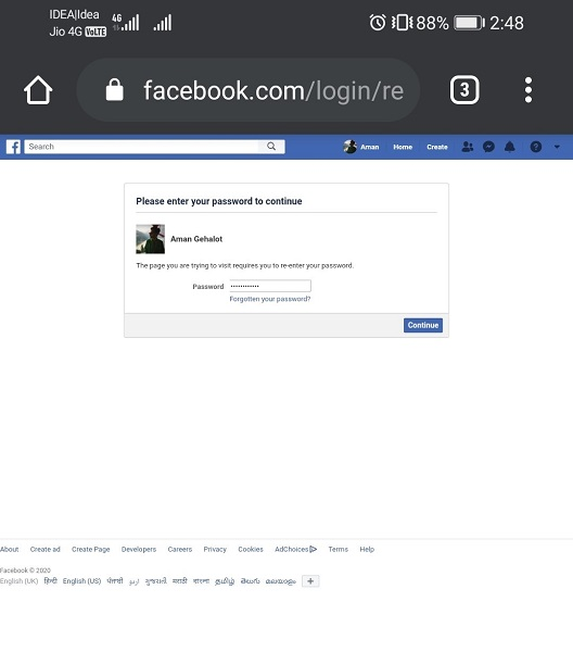 Download Information of Your Facebook Account-7