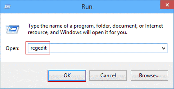Restore deleted files on Windows 10 via system registry