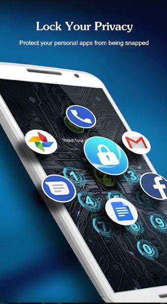 AppLock- Fingerprint & Password, Gallery Locker