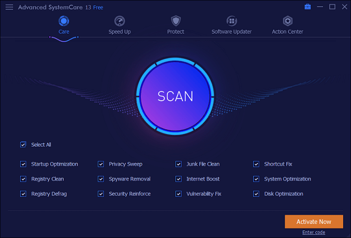 IObit Advanced SystemCare Free