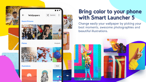 Smart Launcher5- The Fastest Launcher for Android