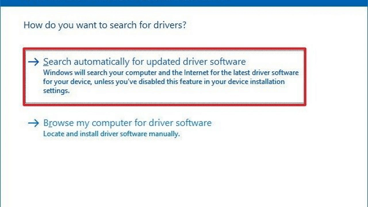 update Dell Inspiron 15 N5010 Driver using Device Manager