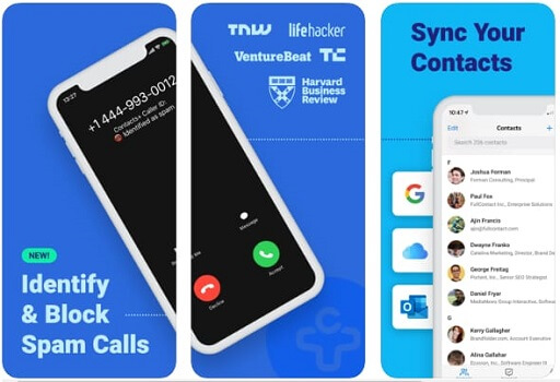 Contacts+ best duplicate contact remover Android and iPhone