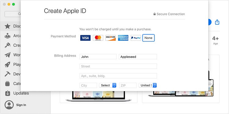 macos-catalina-app-store-create-apple-id-payment-method-none