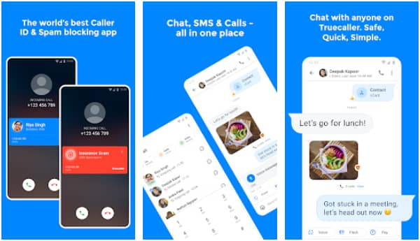 Truecaller Caller ID, SMS, spam block & payments