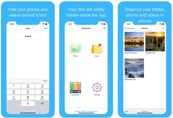 Hide Photos, Video and App Lock- Hide it Pro